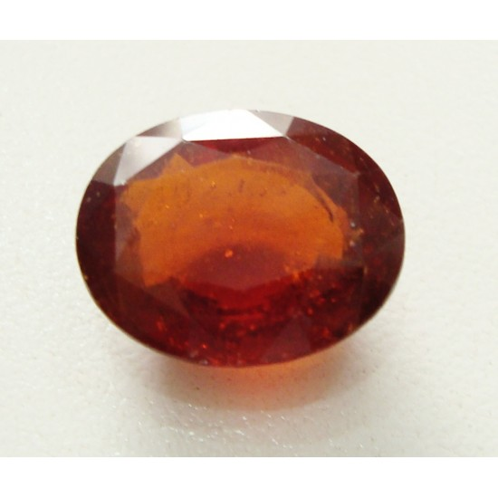 100% natural unheated untreated ceylon hessonite garnet gomedh certified 12.50ct
