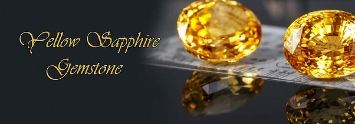 Natural Yellow Sapphire Pukhraj Gemstone
