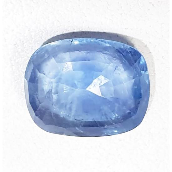 6.13ct 7 ratti Certified Untreated Unheated Ceylon Natural Blue Sapphire Neelam