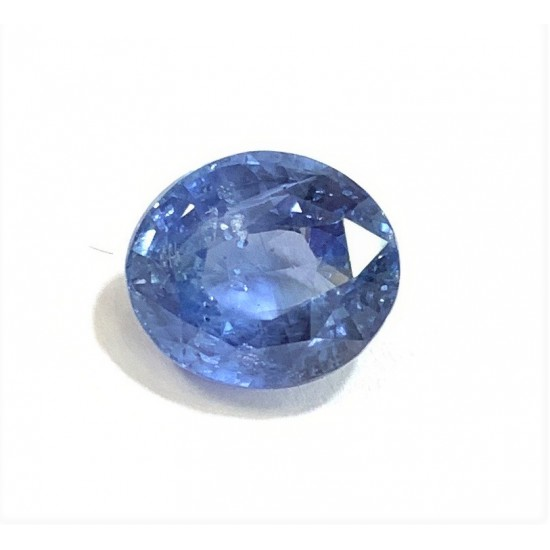6.80ct 7.25ratti Untreated Unheated Certified Natural Ceylon Blue Sapphire Stone