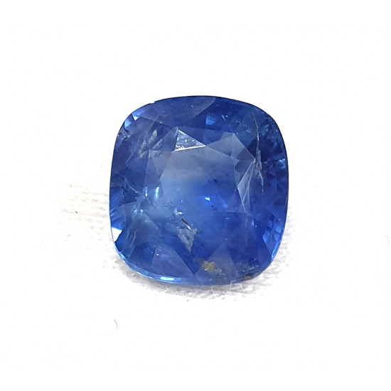 6.60 ct 7.25ratti Untreated Unheated Certified Natural Ceylon Blue Sapphire Stone