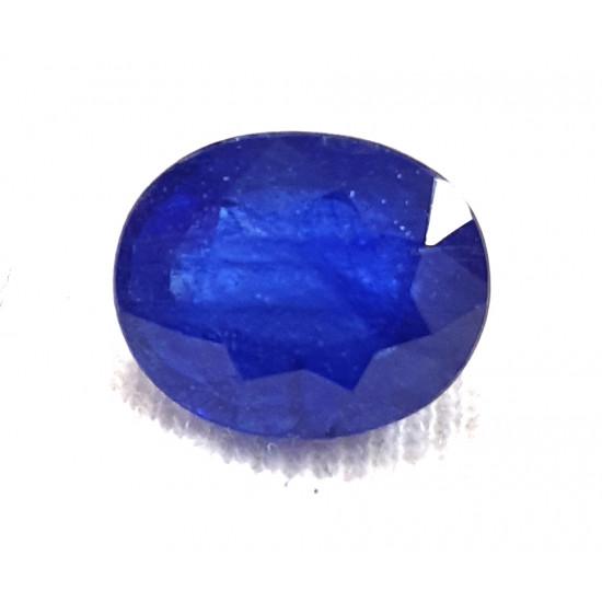 4.42ct Certified Natural Blue Sapphire Neelam Gemstone