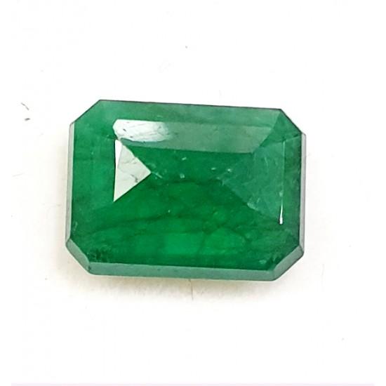 4.65ct Royal Green Natural Brazil Emerald Premium Certified Gemstone 5.10 ratti