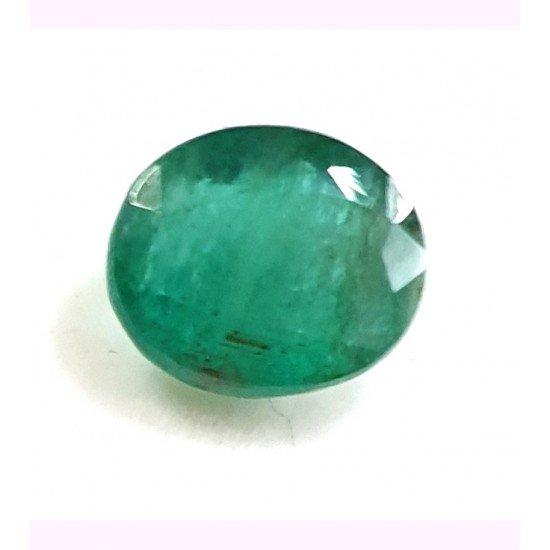 4.10ct Royal Green Natural Zambian Emerald Premium Certified Gemstone