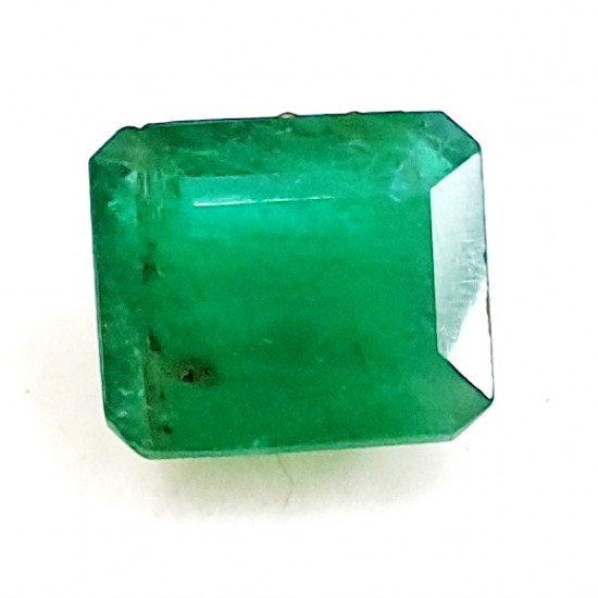 4.10ct Royal Green Natural Brazil Emerald Premium Certified Gemstone 4.50 ratti