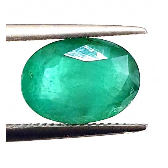 4.85ct Royal Green Natural Brazil Emerald Premium Certified Gemstone