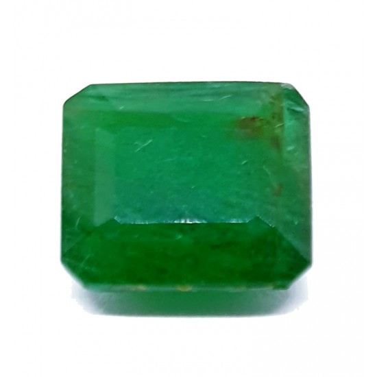 4.15ct Royal Green Natural Brazil Emerald Premium Certified Gemstone 4.50 ratti