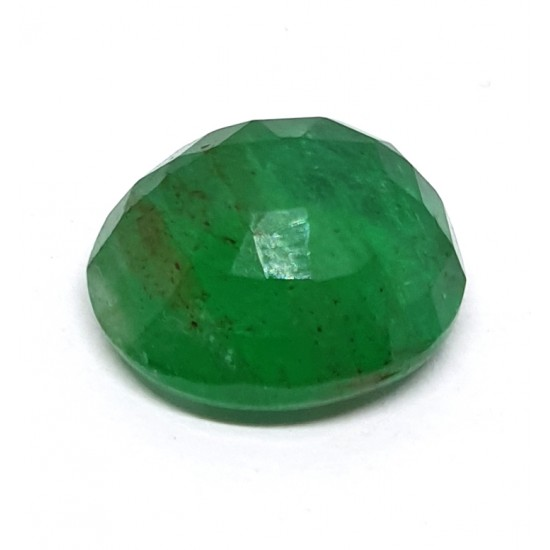 4.10ct Royal Green Natural Brazil Emerald Premium Certified Gemstone 4.5 ratti