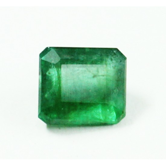 A+ 4.25ct Natural Zambian Emerald Panna Royal Green Certified Gemstone Untreated