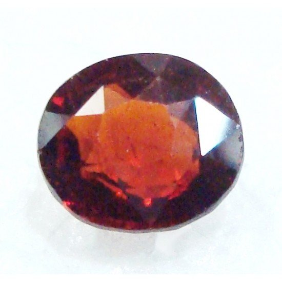 Natural unheated untreated ceylon hessonite garnet gomedh certified 4.40cts