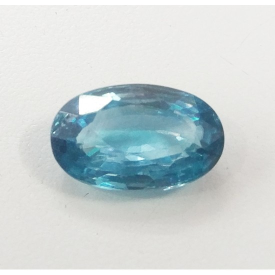 11.50ct 13 ratti Certified Natural Blue Zircon Premium Quality