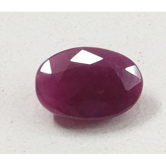 4.70ct Natural Unheated Untreated Certified Ruby Manek Gemstone