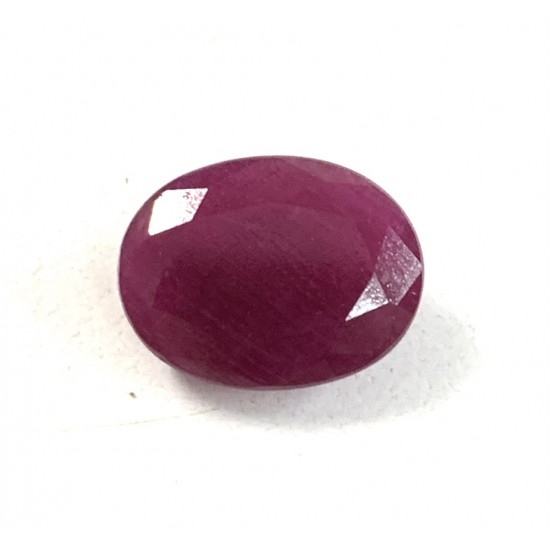 6.90ct 7.5 ratti Certified Unheated Untreated Old Mined Natural Ruby Pigeon Blood