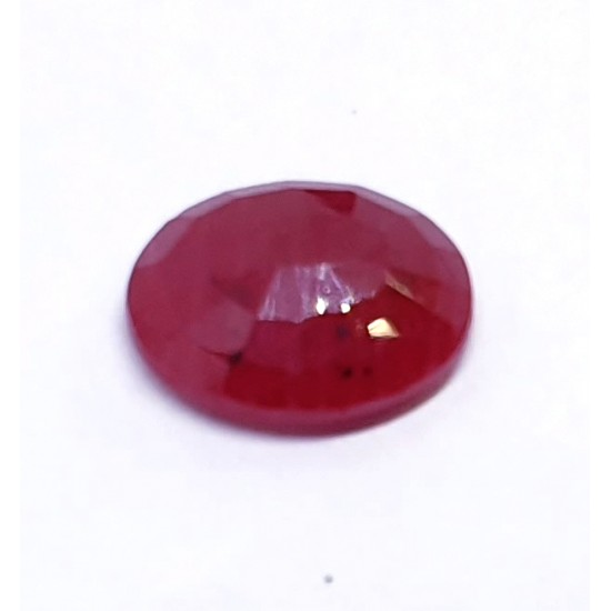 3.10ct 3.50 Ratti Certified Unheated Natural Ruby Old Mined