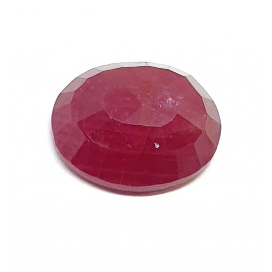 4.60 Ct 5 Ratti Unheated Natural Certified Ruby Old Mined