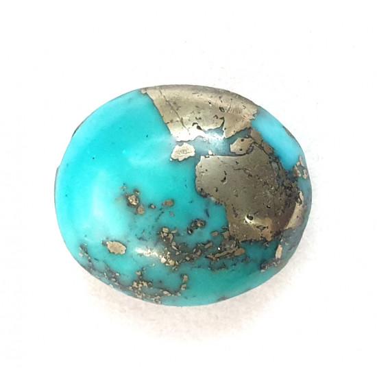 15.40ct Certified Rare Natural Turquoise Irani Firoza Stone Premium Quality