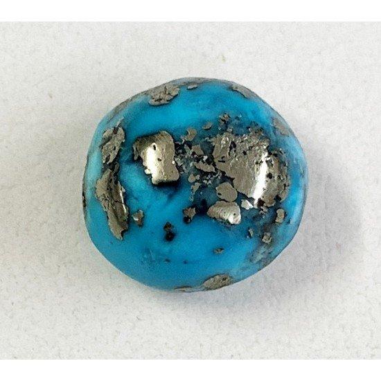 9ct Certified Rare Natural Turquoise Irani Firoza Stone Premium Quality